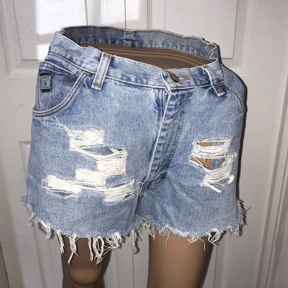5ea20671 Wrangler Shorts | Womens Jean | Poshmark